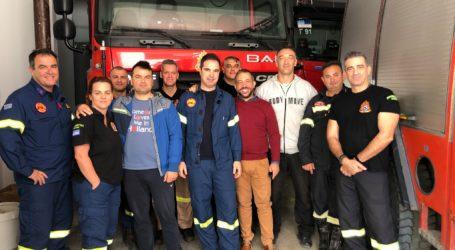 Συνάντηση Πυροσβεστών – Μεϊκόπουλου: Ναι σε νέο κτίριο