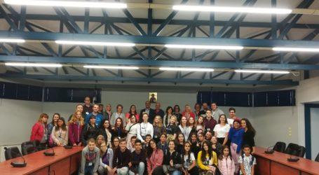 Στο Δημαρχείο Αλμυρού το Γυμνάσιο Ευξεινούπολης στο πλαίσιο του Προγράμματος Erasmus