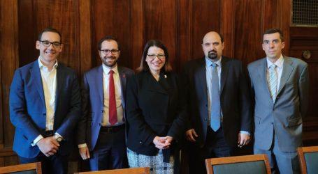 Στο Κοινοβούλιο της Μελβούρνης ο Τριαντόπουλος