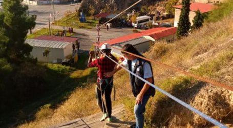 Βόλος: Διασκέδασαν τους ανήλικους πρόσφυγες κάνοντας flying fox [εικόνες]