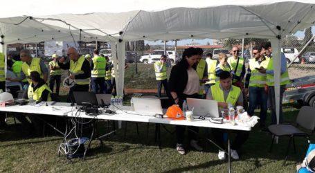 Άσκηση ετοιμότητας από την ΕΔΑ ΘΕΣ για την περίπτωση σεισμού στον Βόλο