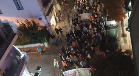 ΤΩΡΑ: Πορεία στον Βόλο ενάντια στην κατάργηση του Πανεπιστημιακού ασύλου [εικόνες]