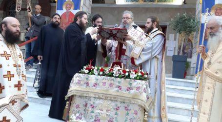 Λαμπρά εγκαίνια για τον Ι.Ν. της Αγίας Παρασκευής στη Λάρισα – Δείτε φωτογραφίες