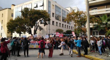 Η Λαική Συσπείρωση Θεσσαλίας, χαιρετίζει την μεγάλη διαδήλωση των μαθητών του Βόλουε νάντια στην καύση σκουπιδιών