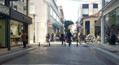 Βόλος: Απόλαυσαν τον ηλιόλουστο καιρό στο κέντρο της πόλης οι Βολιώτες [εικόνες]