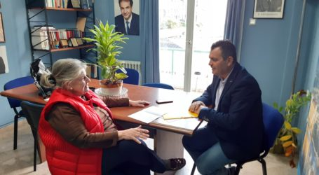 Eυχαριστίεςστον Πρόεδρο της Βουλής απευθύνει ο Χρ. Μπουκώροςγια την ενίσχυση της ΕΛΕΠΑΠ