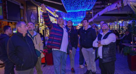 Τα «γαλλικά» του Μπέου για τον εορταστικό φωτισμό – Δείτε το βίντεο