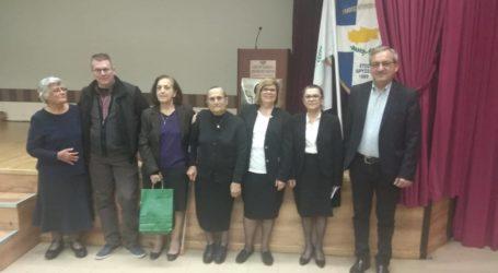 Στην εκδήλωση «Γυναίκες της Αντίστασης στην τουρκική κατοχή» η Λαρισαίων Κοινόν