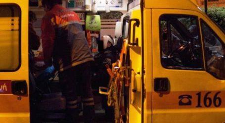 ΤΩΡΑ: Τροχαίο στη διάβαση της Ζάχου στον Βόλο – Ένας τραυματίας