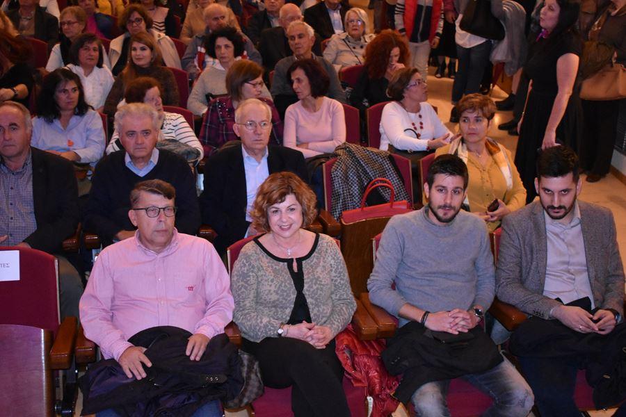 Κατάμεστο το Δημοτικό Ωδείο για το αφιέρωμα στο Πολυτεχνείο από το Δήμο Λαρισαίων (φωτο - βίντεο)