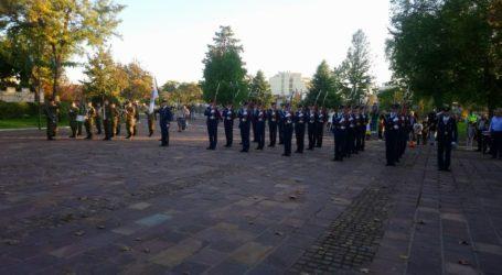 Υποστολή σημαίας στη Λάρισα στο πλαίσιο εορτασμού του προστάτη της Πολεμική Αεροπορίας (φωτο)