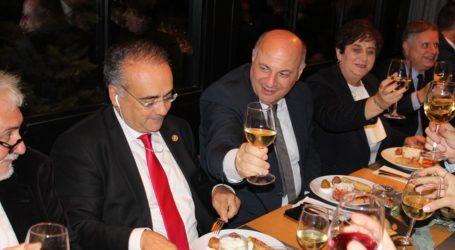 Επίσημο δείπνο στο «Φρούριο» για την Ολομέλεια των Δικηγορικών Συλλόγων – Δείτε φωτογραφίες