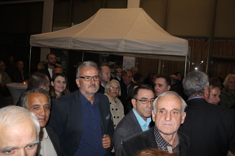 Πλήθος κόσμου στα εγκαίνια του πολιτικού γραφείου της Ευαγγελίας Λιακούλη στη Λάρισα - Δείτε φωτογραφίες