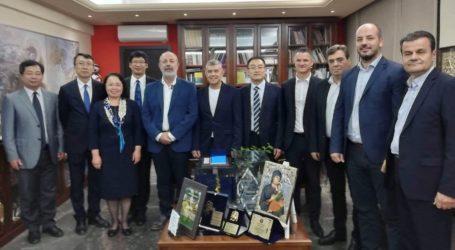 Στον Περιφερειάρχη Θεσσαλίας κλιμάκιο του Πανεπιστημίου Οικονομικών του Πεκίνου, για την ίδρυση του Ινστιτούτου «Κομφούκιος»