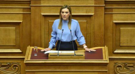 Στέλλα Μπίζιου: Η κυβέρνηση της ΝΔ στηρίζει έμπρακτα τον Έλληνα οινοπαραγωγό