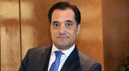 Ο Άδωνις Γεωργιάδης στη Λάρισα – Ομιλητής σε επιχειρηματικό δείπνο του ΣΘΕΒ