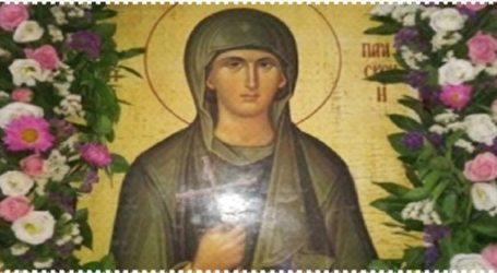 Εγκαινιάζεται ο υπόγειος Ιερός Ναός της Αγίας Παρασκευής της Αθληφόρου στον Άγιο Χαράλαμπο