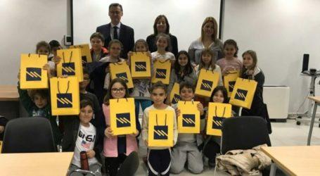Επίσκεψη μαθητών του 3ου Δημοτικού Λάρισας στην τράπεζα Πειραιώς