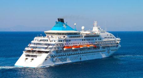 Κρουαζιερόπλοιο με 304 επιβάτες στο λιμάνι του Βόλου