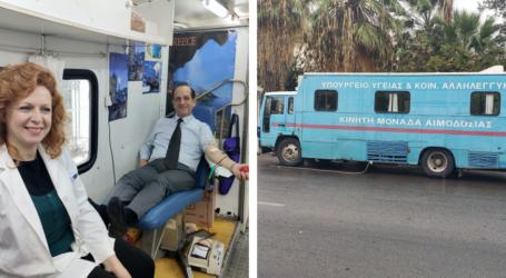 Βόλος: Εθελοντική αιμοδοσία δικηγόρων και δικαστικών υπαλλήλων