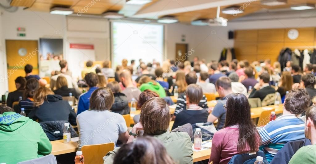 depositphotos 79800082 stock photo workshop at university lecture hall