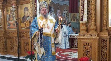 Στον Ι. Ν. Ζωοδόχου Πηγής Λαρίσης λειτούργησε ο Ιερώνυμος, ανήμερα της εορτής των Εισοδίων της Υπεραγίας Θεοτόκου