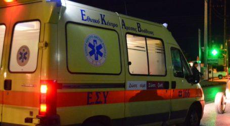 ΤΩΡΑ: Μηχανάκι παρέσυρε πεζή στον Βόλο – Στο Νοσοκομείο η τραυματίας