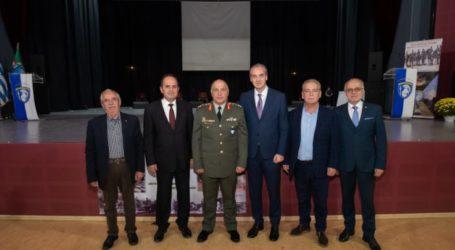 Στα Γιαννιτσά για τον εορτασμό των Ενόπλων Δυνάμεων o Δήμαρχος Ελασσόνας