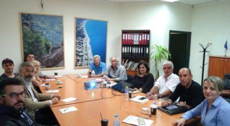 Συνάντηση συνεργασίας στην «Α.Ε.ΝΟ.Λ. Α.Ε.» με φορείς της περιοχής του Ολύμπου για τον περιπατητικό και ποδηλατικό τουρισμό