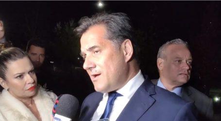Γεωργιάδης από Λάρισα για προσφυγικό: Κανείς Έλληνας πατριώτης δε θα αφήσει να καούν τα νησιά, θα πάρουμε όλοι μας από λίγους (video)