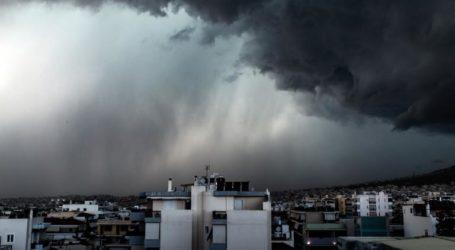 Ξεκινά το κύμα κακοκαιρίας σε Μαγνησία και υπόλοιπη Θεσσαλία