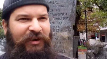 Συνελήφθη στον Ταΰγετο ο «πατήρ Κλεομένης» για τον βανδαλισμό του εβραϊκού μνημείου στη Λάρισα