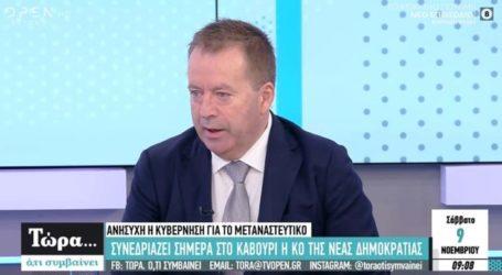 Κόκκαλης στο Open: Διαστρεβλώθηκαν οι δηλώσεις Λάππα και βέβαια είναι ποινικό αδίκημα η κατοχή μολότοφ
