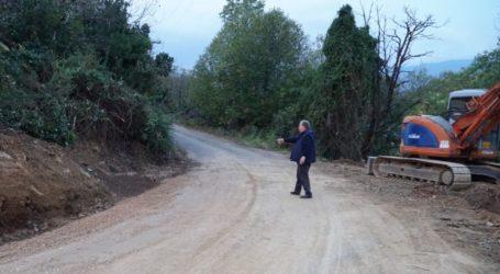 Εργασίες αποκατάστασης τμημάτων του οδικού δικτύου στον Δήμο Ζαγοράς – Μουρεσίου