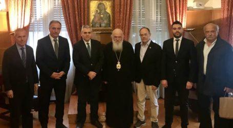 Χαρακόπουλος προς Αρχιεπίσκοπο: Στόχος μας η προαγωγή των κοινών αξιών των Ορθοδόξων