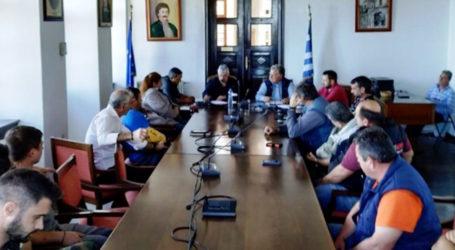 Συντονισμός φορέων πολιτικής προστασίας στον Δήμο Ζαγοράς – Μουρεσίου