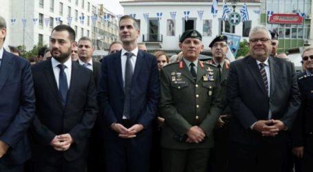 Στην τελετή ενθρόνισης του νέου Μητροπολίτη Φθιώτιδος ο διοικητής της 1ης Στρατιάς
