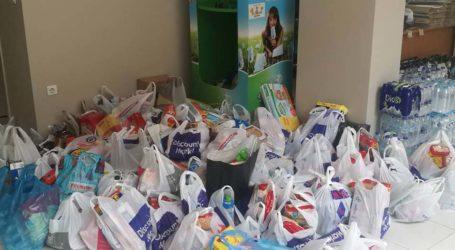 Οι διανομές τροφίμων από το πρόγραμμα ΤΕΒΑ στους δήμους της Λάρισας