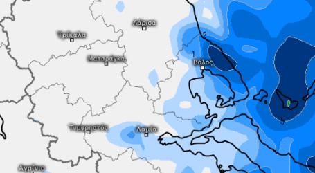 Ο καιρός στον Βόλο το επόμενο τριήμερο – Σε ποιες περιοχές θα βρέξει πολύ