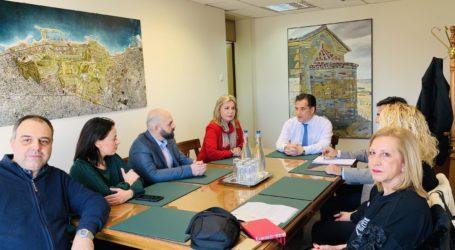 Άδωνις Γεωργιάδης στη Ζέττα Μακρή: Η αναβάθμιση της ΕΒΕΤΑΜ στην αγορά πιστοποίησης αποτελεί στόχο του Υπουργείου Ανάπτυξης