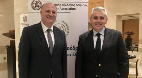 Μ. Χαρακόπουλος προς υπ. Δικαιοσύνης: «Αναγκαίες προσλήψεις δικαστικών υπαλλήλων στα Δικαστήρια Λάρισας»