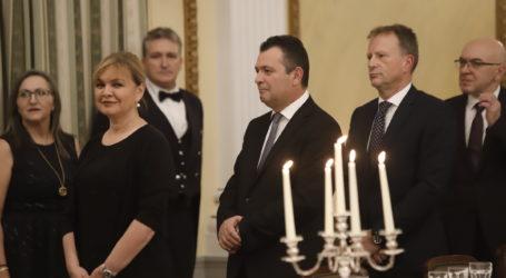Στο Προεδρικό Μέγαρο για την υποδοχή του Προέδρου της Σερβίας ο Χ. Μπουκώρος [εικόνες]
