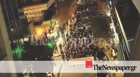 Ειρηνική πορεία για την επέτειο του Γρηγορόπουλου στον Βόλο [εικόνες και βίντεο]