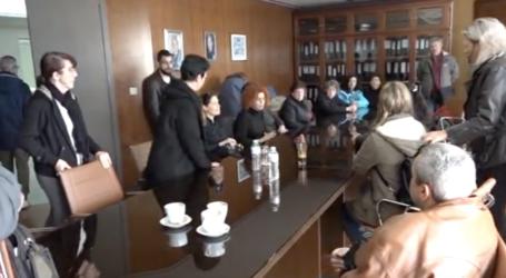 Βόλος: Κατάληψη στην πρυτανεία του Πανεπιστημίου από τις καθαρίστριες