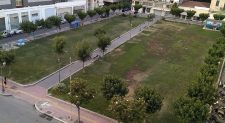 Σε μια σύγχρονη και πράσινη πλατεία μετατρέπεται η Πλατεία Πανεπιστημίου στον Βόλο [εικόνα]