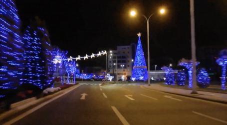 Νυχτερινή βόλτα στον Χριστουγεννιάτικο Βόλο – Δείτε ένα υπέροχο βίντεο