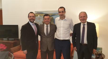 Συνάντηση για τη Βαμβακουργία με τον διευθ. του Πρωθυπουργικού γραφείου είχαν οι βουλευτές Μαγνησίας
