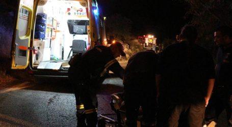 ΤΩΡΑ: Τροχαίο ατύχημα στον δρόμο προς Δράκεια – Στο Νοσοκομείο δύο τραυματίες