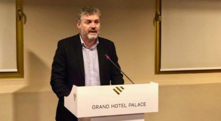 Αντιπρόεδρος του Συνδέσμου Δήμων Ιαματικών Πηγών ο Αντώνης Γκουντάρας