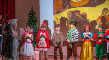 Χριστουγεννιάτικη παράσταση από το 30ο Δημοτικό Σχολείο Λάρισας